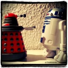 Dalek vs. R2D2