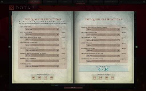 compendium-east predict