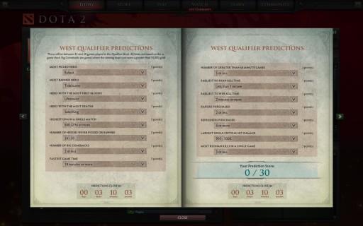 compendium-west predict