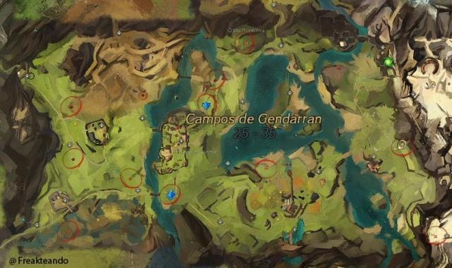 Caos mecánico: mapa de un ataque de Scarlet