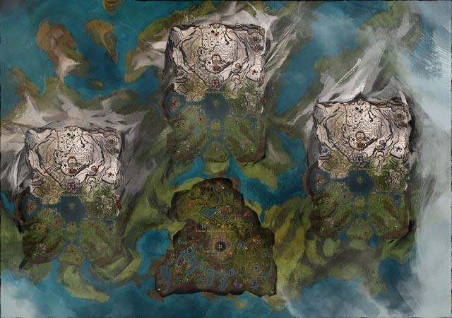 WvW: mapas