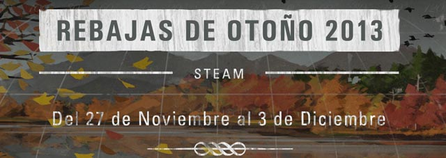 Rebajas otoño steam 2013