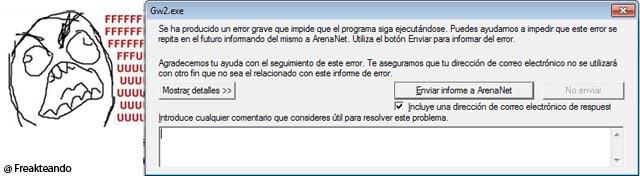 Error b WvW: cabecera