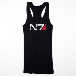 Camiseta de chica de tirantes N7
