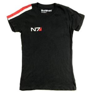 Camiseta de chica con manga corta N7