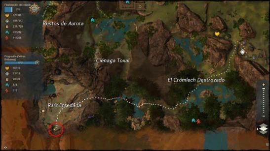 GW2: a las puertas maguuma - Nuevo mapa