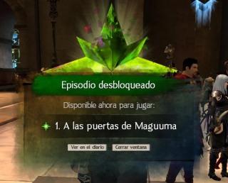 GW2: a las puertas maguuma - inicio